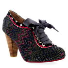 Womens Poetic Licence Backlash Party Mid Heels Lace Up Court Shoes UK 3.5-8.5
