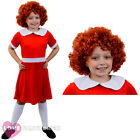 CHILD ORPHAN GIRL COSTUME AND WIG SCHOOL BOOK WEEK FANCY DRESS FILM CHARACTER