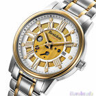 Bestdon Mens Stainless Steel Date Skeleton Automatic Mechanical Sport Watch