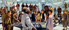 Star Wars VI Return of the Jedi Attack on Death Star Fine Art Giclées on Canvas $1553.0 CAD