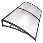 80''x40'' Door Window Outdoor Awning Polycarbonate Patio Sun Shade Cover Canopy cheap