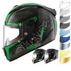 Shark Race-R Pro Cintas Motorcycle Helmet Full Face Motorbike DD Ring Racing ACU