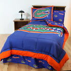Florida Gators Comforter Sham and Sheet Set Twin Full Queen Size Reversible