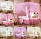 Lace Princess Four Corner Post Bed Canopy Mosquito Netting All Sizes