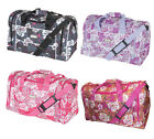 "Hi-Tec Flower Holdall 18"" OR 22"" Ladies Womens Weekend Overnight Sports Gym Bag"