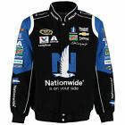 Nascar Dale Earnhardt JR NationWide Cotton Jacket  JH Design Black