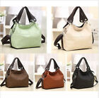 Hot Women's Lady Faux Leather Style Messenger Tote Handbag Shoulder Bag Purse