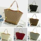 Womens Canvas Bags Ladies Designer Tote Shoulder Handbag Shopper Satchel