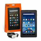 Amazon Kindle Fire 7 inch IPS 8 GB Black w Front Rear Camera - New Model