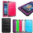 """Rugged Hybrid Shockproof Full Protective Cover Case for 2015 Amazon Fire 7"""""""