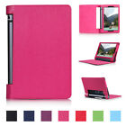 "Slim PU Protect Leather Magnetic Stand Case Wake For Lenovo Yoga 3 850F 8"" Tab"