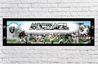 Personalized Oakland Raiders Name Poster with Border Mat Wall Painting Banner $16.0 USD on eBay