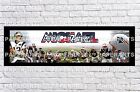Personalized New England Patriots Name Poster with Border Mat Wall Banner Update
