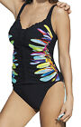 Sunflair Tankini-Set gefüttert, Unterbrustband Parrot on the Beach 28007 schwarz