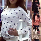 Fashion Women Long Sleeve Casual Loose T-shirt Tops Sweatshirt Blouse Ladies New