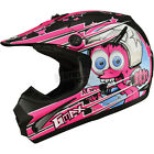 GMax Youth Black/Pink GM46.2 Superstar Helmet ( Kids L / Large ) - 72-6699YL