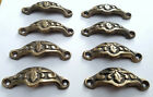 8 Antique Vict Style Apothecary Cabinet Pull Handles 2 7/8