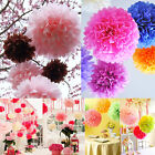 10/20/30 Tissue Paper Pompoms -3 Sizes- Pom Poms Balls Wedding Party Decorations