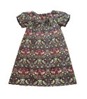 Girl's 0-24 Months Liberty of London Cotton Handmade Dress, Strawberry Thief K