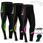 Ladies Cycling Tights Padded Winter Thermal Pants Womens Cycle Bicycle Trousers