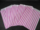 Paper Sweet Bags - Pink Candy Stripe 7