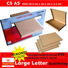 Royal Mail Large Letter Box A5 C5 PIP Postal Shipping Strong Cardboard Boxes