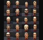 "1/6 Scale 12"" WWII Sculpt Head FOR 12"" Action Figure Toy Soldiers Body"