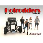 NEW FIGURINES - Hotrodder SET of 4 figures -1/18 scale figure - AMERICAN DIORAMA