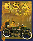 Fashion Couple Riding Motorcycle BSA Bike Cycle 16X20 Vint Poster Repro FREE S H