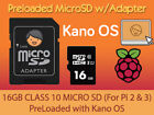 KANO OS Learn to Code Games for Kids Raspberry Pi PreLoaded Class 10 Micro SD