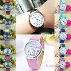 "Fashion Leather Quartz Watches""Whatever I'm late anyway"" Womens Mens Wristwatch"