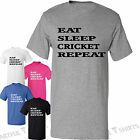 Eat Sleep Cricket Repeat Brand new T-Shirt Best gifts for Him Her Size S-XXL