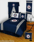 Winnipeg Jets Comforter and Sheet Set Twin Full Queen King Size