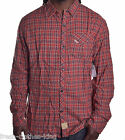 Artful Dodger Mens $78 Target Red New York Flannel Button Up Shirt Size XL