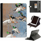 Hunting Luxury Apple ipad 360 swivel i pad leather case cover with card slots
