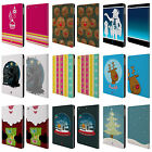 HEAD CASE DESIGNS MIX CHRISTMAS COLLECTION LEATHER BOOK CASE FOR APPLE iPAD AIR