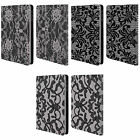 HEAD CASE DESIGNS BLACK LACE LEATHER BOOK WALLET CASE FOR APPLE iPAD MINI 1 2 3