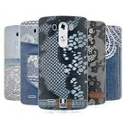 HEAD CASE DESIGNS JEANS AND LACES SOFT GEL CASE FOR LG PHONES 1
