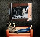 The Mild Mild West Banksy Graffiti Street Art Gigantic Print POSTER