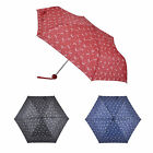 Super Mini Umbrella Womens Brolly Butterfly Print Compact Handbag Windproof