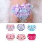 Внешний вид - Toddler Baby Infant Girl Lace Ruffle Bloomer Nappy Underwear Panty Diaper Cover