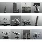 Metal 3D Puzzle Miniature Model Building Fighter Planes Laser Cut No Glue Needed