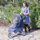 Gen7Pets Monaco Aluminum Lightweight frame pet strollers for pets up to 60 lbs.