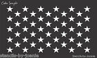 Joanie STENCIL (50) Stars WIDE Flag USA Patriotic American Custom DIY Art Sign