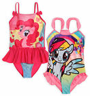 Girls My Little Pony Swimming Costume New Kids Pink Swimsuit Ages 4 6 8 9 10 Yrs