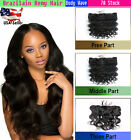 """Lace Frontal Closures 13""""x4 Brazilian Body Wave Virgin Human Remy with Baby Hair"""