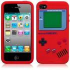 Gameboy Silicone Case & Screen Protector for Apple iPhone 4 & 4S