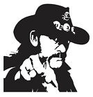Lemmy sticker VINYL DECAL Motorhead Hard Rock No Sleep 'til Hammersmith