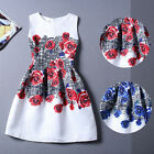 Casual Sleeveless Dresses Rose Summer Women's Clothing Temperament Womens