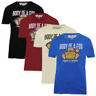 Xplicit Body Of A God Mens T Shirt Slogan Buddha Religion Funny Cotton Top Tee